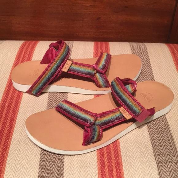 51d5488e3 Women s Teva universal Slide Ombré. M 5a54691f9a945595f9045871. Other Shoes  ...